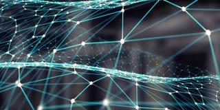 Tecnologie senza fili del collegamento Fotografia Stock