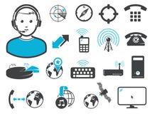 Tecnologie senza fili del collegamento Immagini Stock