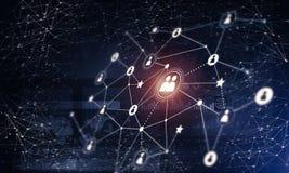 Tecnologie wireless moderne come mezzi di communucation e di netwo Fotografia Stock Libera da Diritti