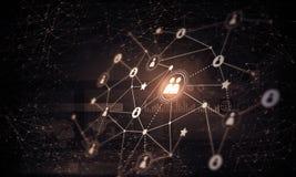 Tecnologie wireless moderne come mezzi di communucation e di netwo Fotografia Stock