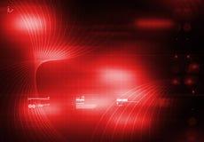 tecnology de rouge de fond illustration de vecteur