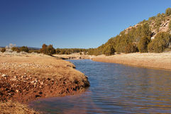 Tecolote Creek New Mexico Royalty Free Stock Photos