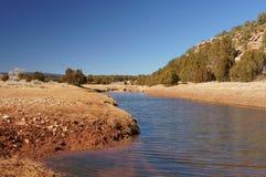 Tecolote Creek New Mexico royalty free stock photos