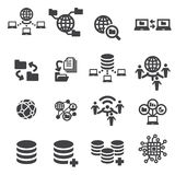 Tectnology and data icon Stock Photos
