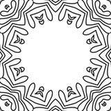 Tecture in bianco e nero della struttura del fiore royalty illustrazione gratis