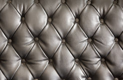 Tecture di cuoio nero Fotografie Stock