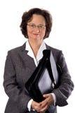 teczka bizneswoman Obrazy Stock