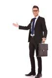 teczki biznesowego mężczyzna target700_0_ Fotografia Stock