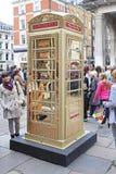 Ted Baker Phone Box Lizenzfreies Stockbild