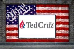 TED Cruz για τον Πρόεδρο Στοκ Εικόνες