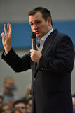 Ted Cruz Campaigns in St. Louis, MO U.S.A. Royalty Free Stock Photos