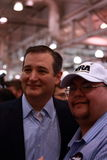 Ted Cruz poses with NRA supporter Stock Image