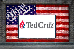 Ted Cruz For President Stock Images