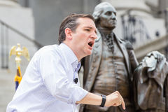 Ted Cruz - pro rassemblement de famille Photos libres de droits