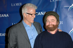 Ted Danson,Zach Galifianakis Royalty Free Stock Images
