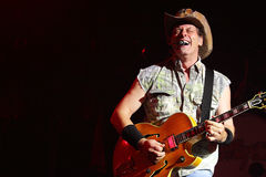 Ted Nugent Royalty Free Stock Image