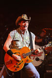 Ted Nugent. PHOENIX, AZ - JUNE 28: Ted Nugent, The Motor City Madman performs for fans at the Celebrity Theatre in Phoenix Arizona on June 28, 2011 Royalty Free Stock Photos