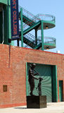 Ted Williams Statue at Fenway Park Royalty Free Stock Images