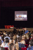 TED X het conceptuele ontwerpconferentie van NAPOLI Royalty-vrije Stock Afbeelding