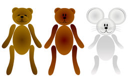 Teddies Royalty Free Stock Photography