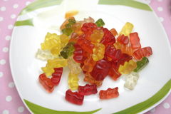 Teddies of jelly Royalty Free Stock Photo