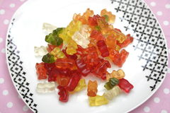 Teddies of jelly Stock Images