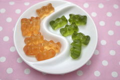 Teddies of jelly Royalty Free Stock Photography