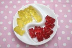 Teddies of jelly Stock Photos