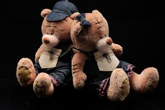 Teddy-αρκούδες Στοκ φωτογραφία με δικαίωμα ελεύθερης χρήσης