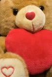 teddy βαλεντίνος Στοκ εικόνες με δικαίωμα ελεύθερης χρήσης