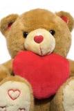 teddy βαλεντίνος Στοκ Εικόνες