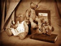 6 teddy στοκ φωτογραφία