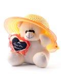 χαριτωμένος teddy Στοκ Εικόνα