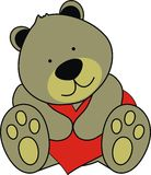 Teddy. Bear in format easy to edit vector illustration