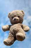Teddy in the air Stock Image