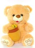 Teddy Bear. A plush Teddy Bear isolated on white Royalty Free Stock Image
