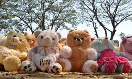 Teddy bear. Group of cute teddy bears Royalty Free Stock Photo