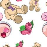 Teddy bear stock illustration