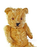 Teddy Bear. Close up of a Teddy Bear on a white background Royalty Free Stock Photography