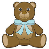 Teddy bear. Children's toy illustration Stock Image
