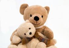 Teddy bear. My toy - Teddy bear over a white background Stock Photo