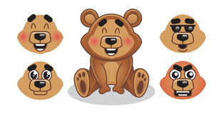 Teddy Bear Illustrazione Vettoriale