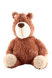 Teddy bear. A teddy bear isolated (with clipping path Royalty Free Stock Photography