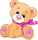 Teddy Bear. A rough, painterly childs teddy bear Royalty Free Stock Photo