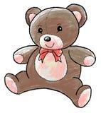 Teddy bear. An illustration of teddy bear doll Stock Photos