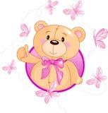 Teddy Bear. Very cute Teddy Bear waiving hello Royalty Free Stock Photos