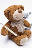 Teddy bear as a doctor Stock Photo