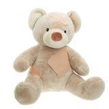 Teddy Bear avec des bandages photos libres de droits