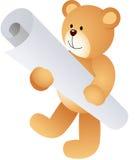 Teddy Bear avec le diplôme illustration de vecteur