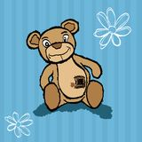 Teddy bear for baby Royalty Free Stock Photo